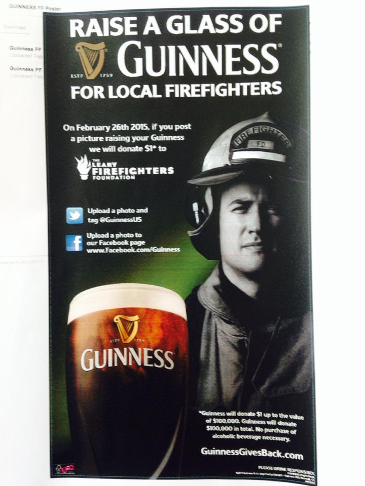 Guinness-Firefighters