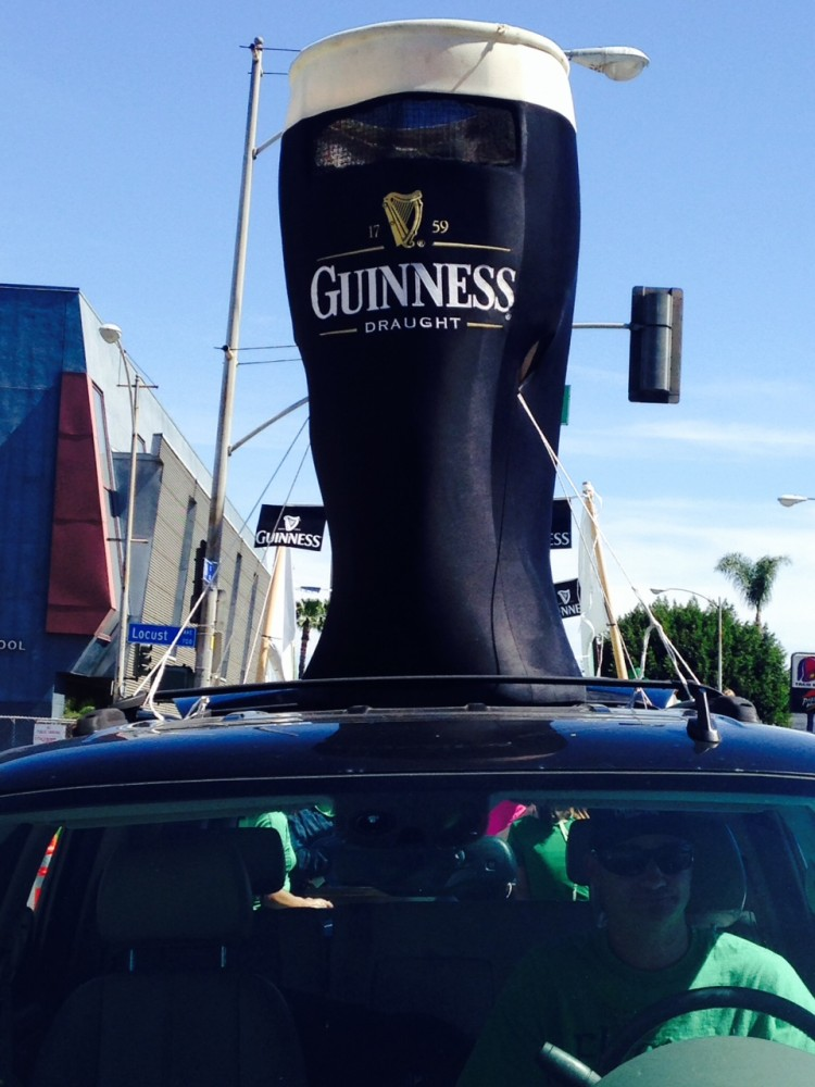 Enormous Guinness Beer